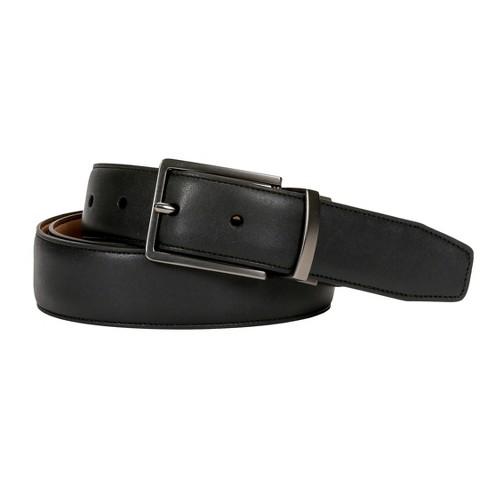 Swiss Gear Men's Reversible Buckle Belt - Black/Tan - image 1 of 4