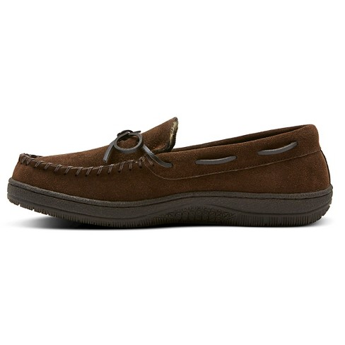 c14fa56541ed Men s Hideaways By L.B. Evans Moccasin Slippers   Target