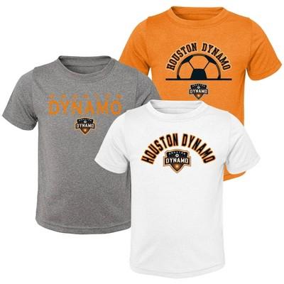 MLS Houston Dynamo Toddler Short Sleeve 3pk T-Shirt