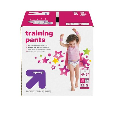 Girls' Training Pants - up & up™ - (Select Size and Count)