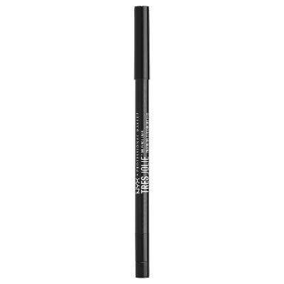NYX Professional Makeup Tres Jolie Gel Pencil Liner Pitch Black - 0.018oz
