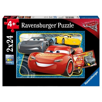 Ravensburger Disney Cars 3: I Can Win! - 2 x 24pc Puzzles in a Box