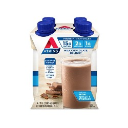 Atkins Nutritional Shake - Milk Chocolate Delight