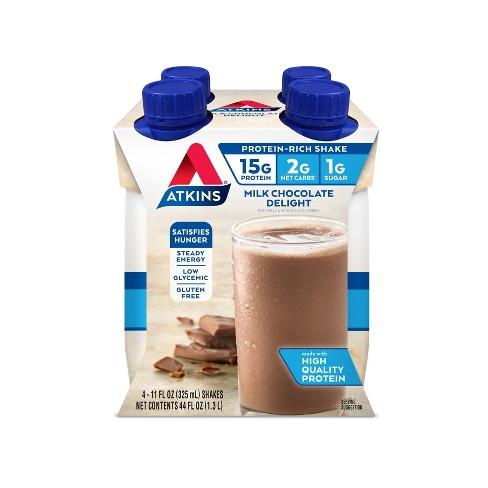 Atkins Nutritional Shake - Milk Chocolate Delight - image 1 of 1