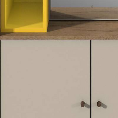 Yellow/Off-white