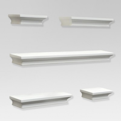5pc Traditional Shelf Set White - Threshold™