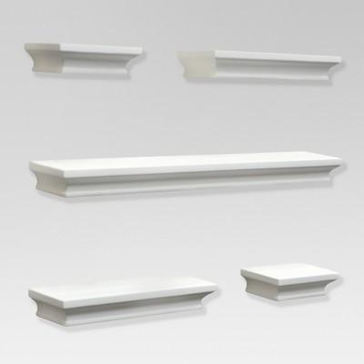 Bon Traditional Shelf Set 5pc   White   Threshold™