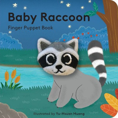 Baby Raccoon: Finger Puppet Book - (Hardcover)