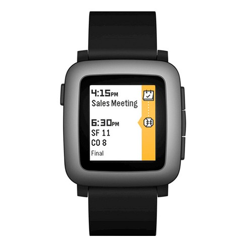 Pebble Time Smartwatch - image 1 of 4