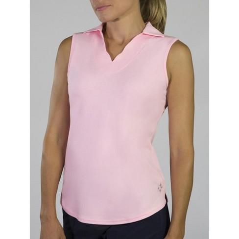 e3ad176c Women's Jofit Scallop Sleeveless Polo : Target