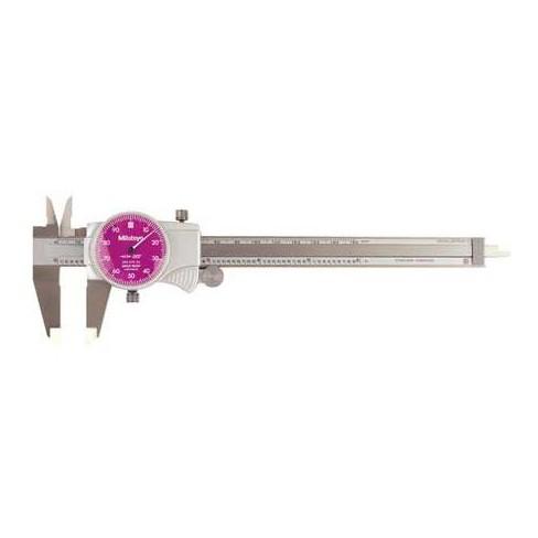 MITUTOYO 505-742-52 Dial Caliper,6 In,Purple,0.100/Rev - image 1 of 1