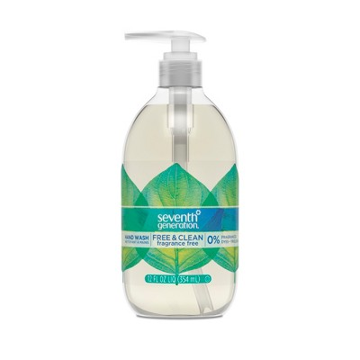 Seventh Generation Free & Clean Unscented Liquid Hand Soap - 12oz