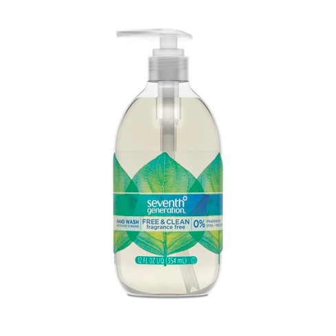 Seventh Generation Free & Clean Unscented Liquid Hand Soap - 12oz - image 1 of 4