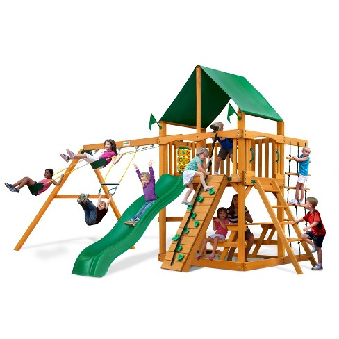 Gorilla Playsets Chateau Swing Set Target