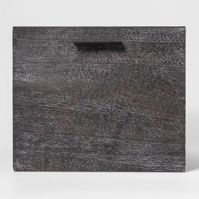 Large Decorative Dark Wood Crate Black 11 x14  - Project 62™
