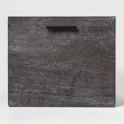 "Large Decorative Wood Crate 11""x14"" - Project 62™ - image 1 of 3"