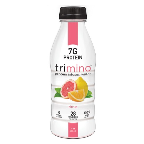 Trimino Citrus Protein Infused Water - 16 fl oz Bottle - image 1 of 1