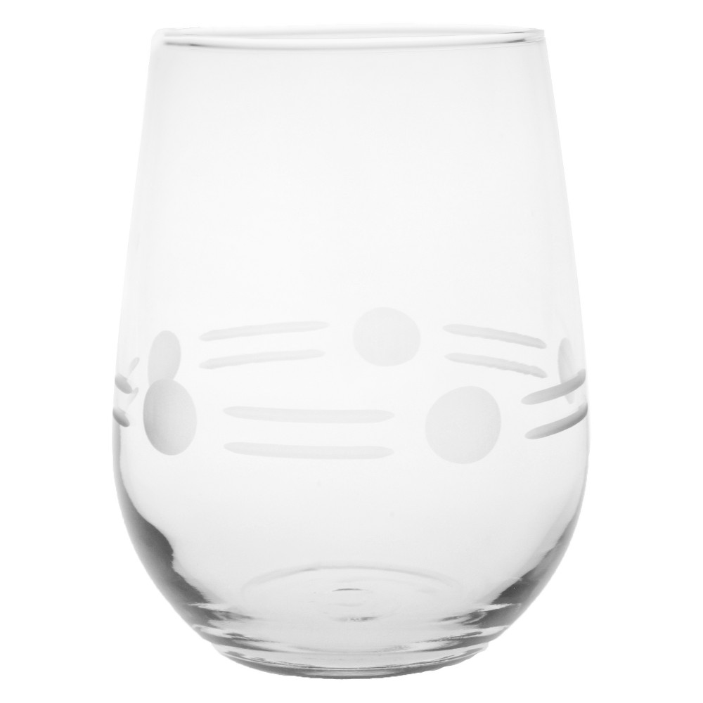 Image of 17oz 4pk Boogie Stemless Wine Glasses - Rolf Glass, Clear