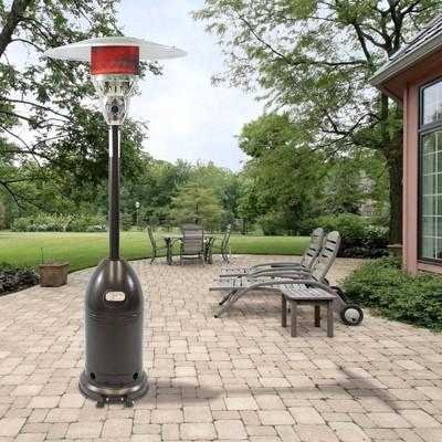 Premium Patio Heater Hammered Bronze - Dyna-Glo
