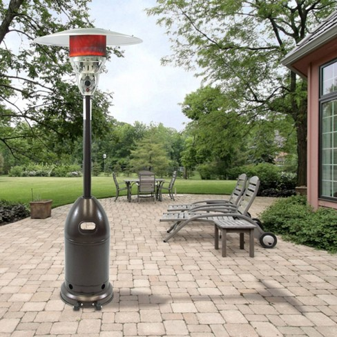 Premium Patio Heater Hammered Bronze - Dyna-Glo - image 1 of 4