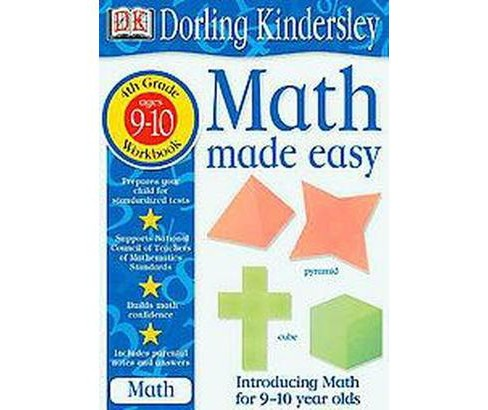 Math Made Easy : Grade 4 (Workbook) (Paperback) (John Kennedy) - image 1 of 1