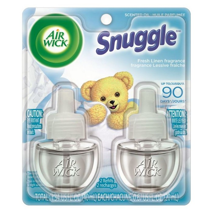 Air Wick Scented Oil Refills Snuggle - Multipack - image 1 of 2