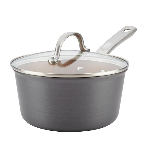 Ayesha Curry™ 3qt Home Collection Hard Anodized Aluminum Covered Saucepan - image 1 of 4