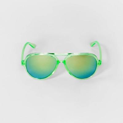 Boys' Aviator Sunglasses - Cat & Jack™ Green