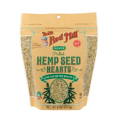 Nuts & Seeds: Bob's Red Mill Hemp Seed Hearts