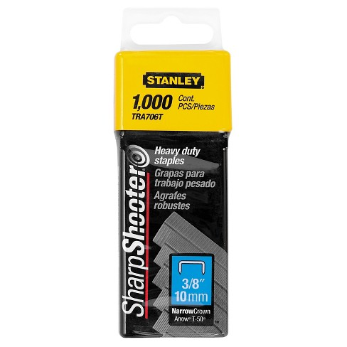 """STANLEY 3/8"""" 1000/Pack Heavy Duty Staples - image 1 of 1"""