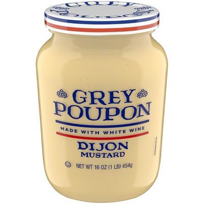 Mustard: Grey Poupon Dijon