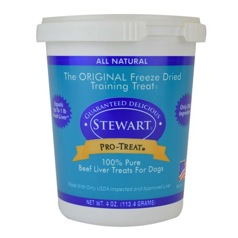 Stewart Freeze - Dried Beef Liver Dog Treat - image 1 of 3