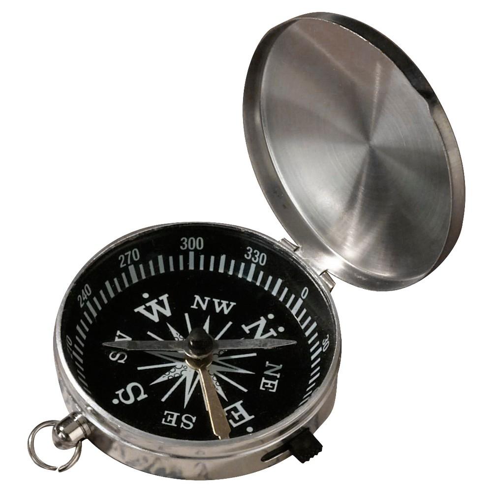 Silver Compass Party Favor, Light Silver