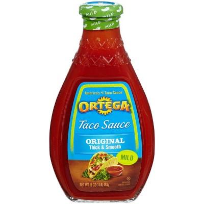 Ortega Original Thick & Smooth Mild Taco Sauce 16-oz.