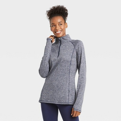 Women's Train 1/2 Zip Pullover - All in Motion™ Navy M