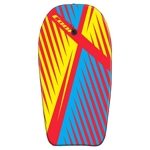 "COOP Pipe 37"" Bodyboard - Cyan/Red/Yellow - image 1 of 1"