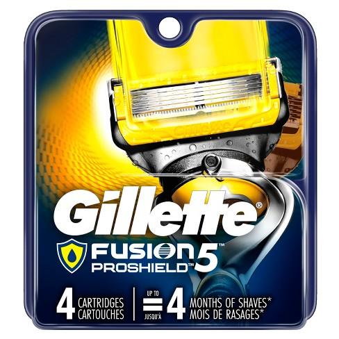 Gillette Fusion5 ProShield Men's Razor Blade Refills - 4ct - image 1 of 8