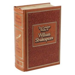 The Complete Works of William Shakespeare - (Leather-Bound Classics) (Leather_bound)