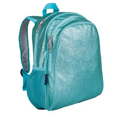 Wildkin Blue Glitter 15 Inch Backpack