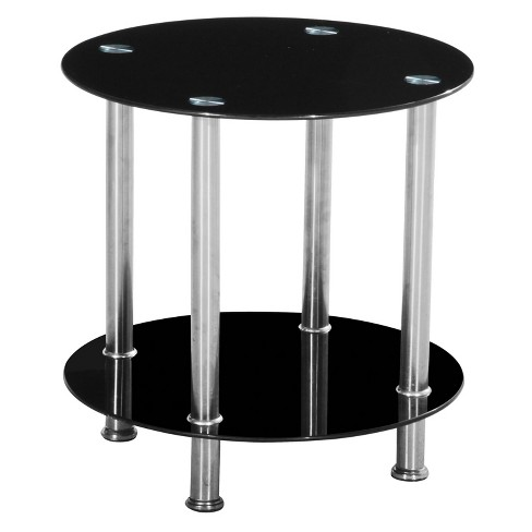Accent Table Metal Black - Home Source Industries - image 1 of 3