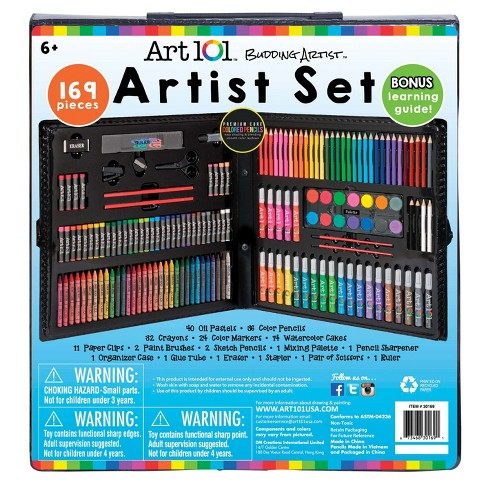 Art101 Young Artists Coloring Set - 169pc - image 1 of 2