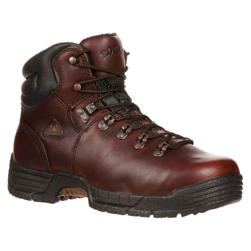 Men's Rocky Wide Width MobiLite Steel Toe Boots - Brown 13W, Size: 13 Wide