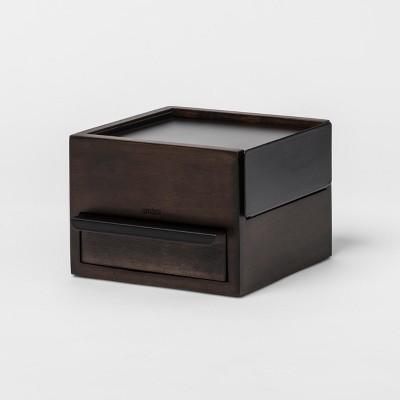 3pk Anigram Jewelry Storage Black Walnut - Umbra