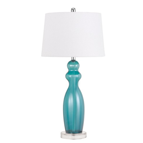 150W 3 Way Bristol Glass Table Lamp (Sold And Priced In Pairs)  - Cal Lighting - image 1 of 2