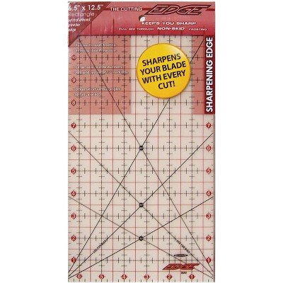 """Sullivans The Cutting EDGE Frosted Ruler-6-1/2""""X12-1/2"""""""