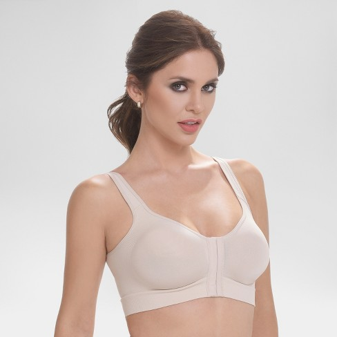 18db888121076 Annette Women s Post Surgical Front Close Recovery Bra - Beige XXL ...