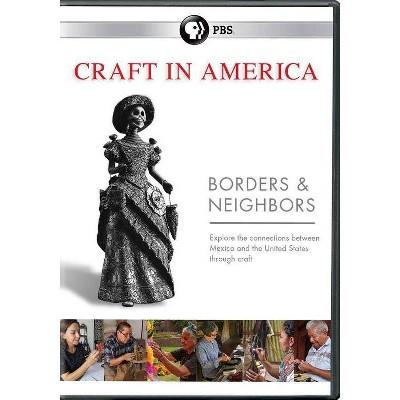 Craft in America: Borders & Neighbors (DVD)(2017)