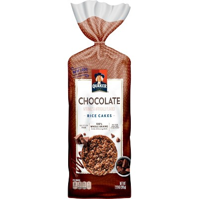 Quaker Chocolate Crunch Large Rice - Cakes 7.23oz