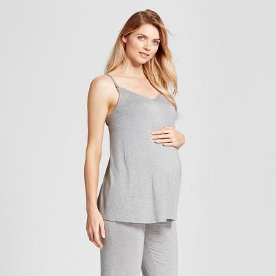 Maternity Pajama Set - Isabel Maternity™ by Ingrid & Isabel® Medium Heather Gray M