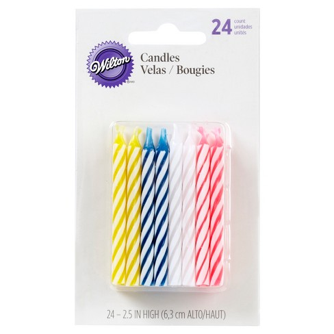 Wilton Celebrations Assorted Candles